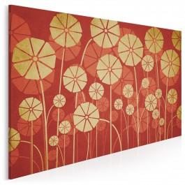 Parasolki - nowoczesny obraz na płótnie - 120x80 cm