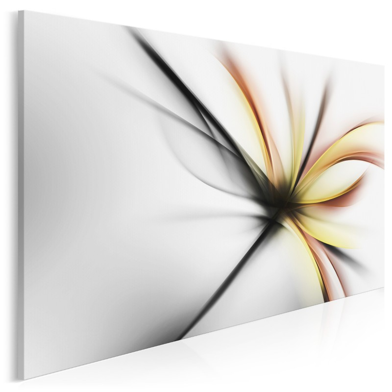 Wdzięczne ekwilibrium - nowoczesny obraz do sypialni