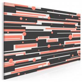 Odyseja kosmiczna - nowoczesny obraz na płótnie - 120x80 cm
