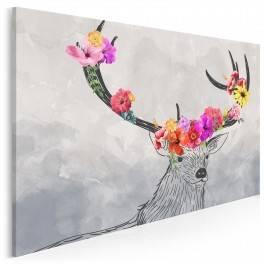 Wiła wianki - nowoczesny obraz na płótnie - 120x80 cm