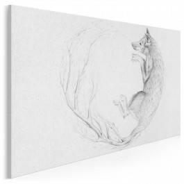 Cykl natury - nowoczesny obraz na płótnie - 120x80 cm