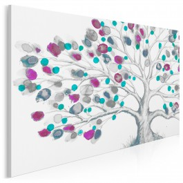 Drzewo życia - nowoczesny obraz do salonu - 120x80 cm