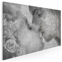 Hymn o miłości - nowoczesny obraz na płótnie - 120x80 cm