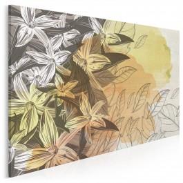 Późne lato - nowoczesny obraz na płótnie - 120x80 cm