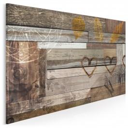 Kroniki miłowania - nowoczesny obraz do salonu - 120x80 cm
