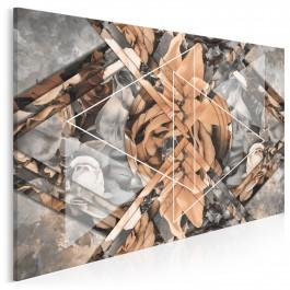 Wzór perfekcji - nowoczesny obraz na płótnie - 120x80 cm