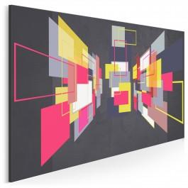 Pokój zwierzeń - nowoczesny obraz na płótnie - 120x80 cm