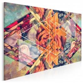 Wzór szlachetności - nowoczesny obraz na płótnie - 120x80 cm