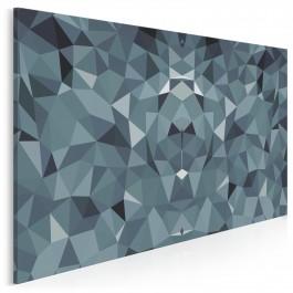 Krystaliczna maestria - nowoczesny obraz na płótnie - 120x80 cm
