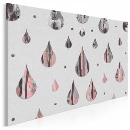 Kamienne łzy - nowoczesny obraz na płótnie - 120x80 cm