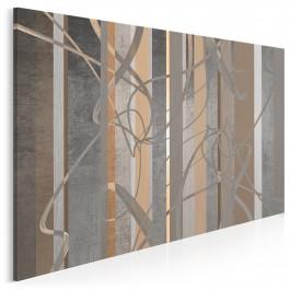 Meandry zapomnienia - nowoczesny obraz do salonu - 120x80 cm