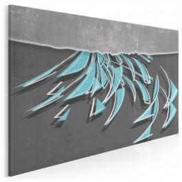 Paradoks ostrości - nowoczesny obraz do salonu - 120x80 cm