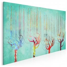 Królewski kwartet - nowoczesny obraz na płótnie - 120x80 cm