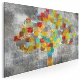 Urodzaj wzruszeń - nowoczesny obraz na płótnie - 120x80 cm