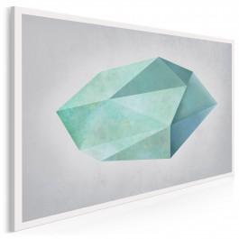 Nieoszlifowany diament - nowoczesny obraz na płótnie - 120x80 cm
