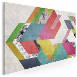 Sen na jawie - nowoczesny obraz na płótnie - 120x80 cm