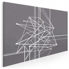 Trajektoria losu - nowoczesny obraz na płótnie - 120x80 cm