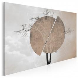 Monument awangardy - nowoczesny obraz na płótnie - 120x80 cm