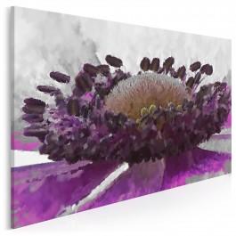Wytworna purpura - nowoczesny obraz na płótnie - 120x80 cm