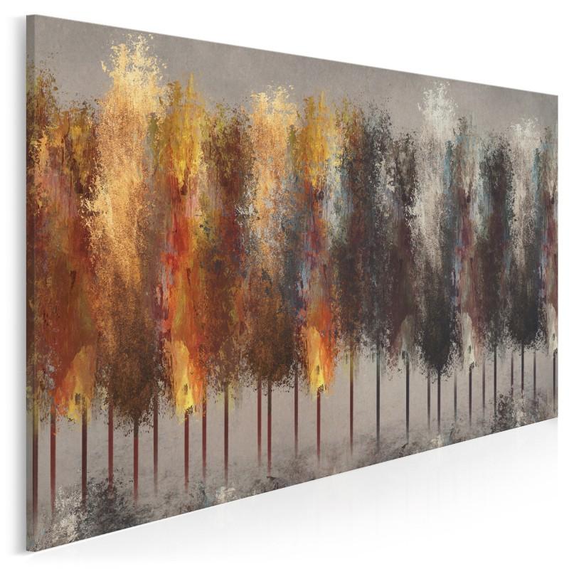 Za siedmioma lasami - nowoczesny obraz na płótnie - 120x80 cm