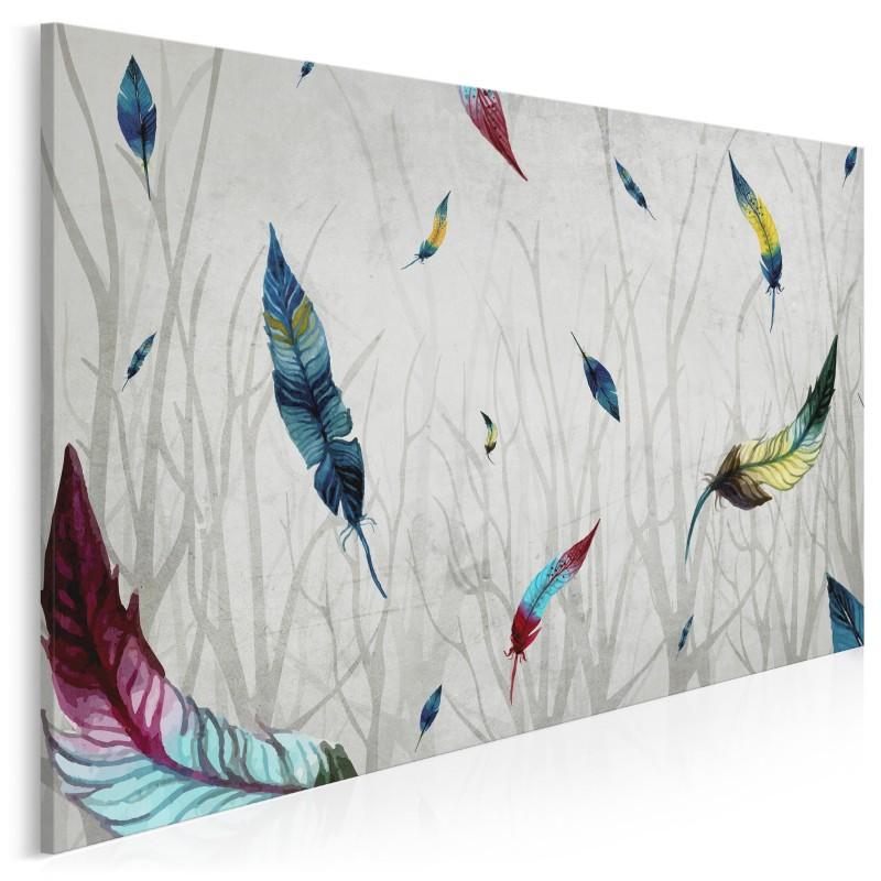 We własnym niebie - nowoczesny obraz na płótnie - 120x80 cm