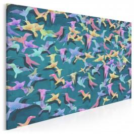 Pieśń kolibra - nowoczesny obraz na płótnie