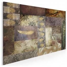 Ostatni podmuch jesieni - nowoczesny obraz do salonu - 120x80 cm