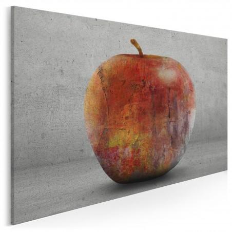 W starym sadzie - nowoczesny obraz na płótnie - 120x80 cm