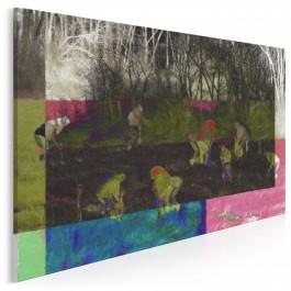 Sianokłosy - nowoczesny obraz do sypialni - 120x80 cm