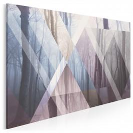Światy równoległe - nowoczesny obraz na płótnie - 120x80 cm