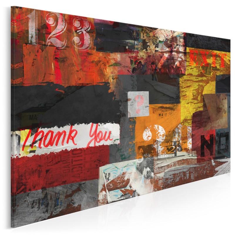 Maszyna zmian - nowoczesny obraz na płótnie - 120x80 cm