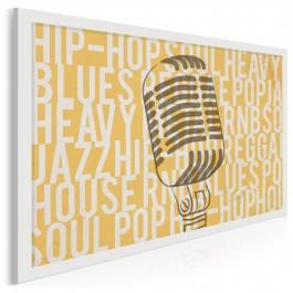 Szafa grająca - nowoczesny obraz na płótnie - 120x80 cm