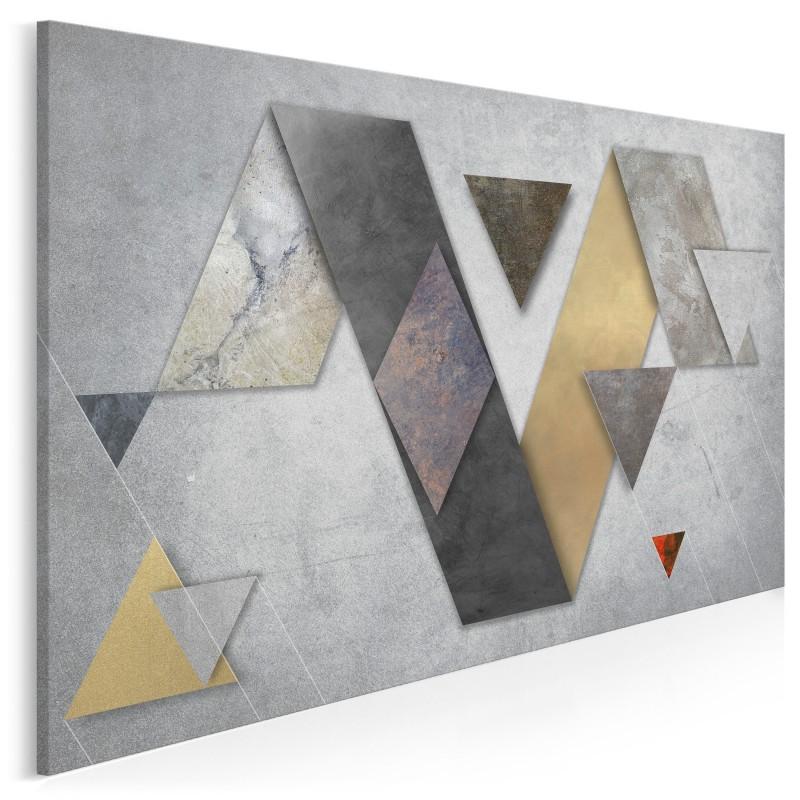 Spektrum prawdy - nowoczesny obraz na płótnie - 120x80 cm