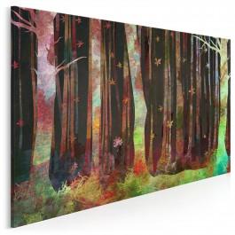 Almanach przyrody - nowoczesny obraz do sypialni - 120x80 cm