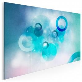 Poetyka myśli - nowoczesny obraz na płótnie - 120x80 cm