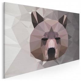Nie chce mi się - nowoczesny obraz do sypialni - 120x80 cm