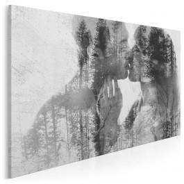 Siła jedności - nowoczesny obraz na płótnie - 120x80 cm