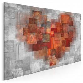 Pamiętnik uczuć - nowoczesny obraz do sypialni - 120x80 cm
