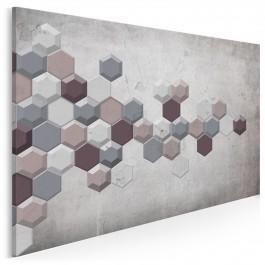 Brakujący element - nowoczesny obraz na płótnie - 120x80 cm