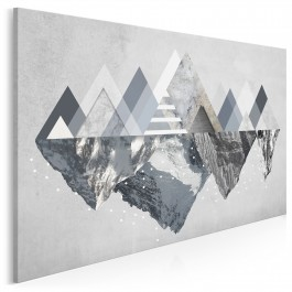 Piękno gór - nowoczesny obraz na płótnie - 120x80 cm