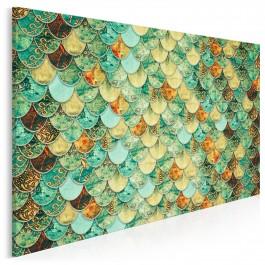 Syreni śpiew - nowoczesny obraz na płótnie - 120x80 cm