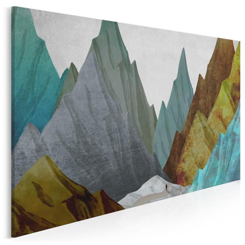 Mount Everest marzeń - nowoczesny obraz na płótnie - 120x80 cm