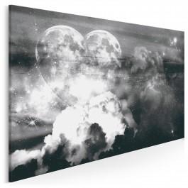 Serce galaktyki - nowoczesny obraz do sypialni - 120x80 cm