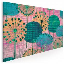 Eufloria barw - nowoczesny obraz na płótnie - 120x80 cm