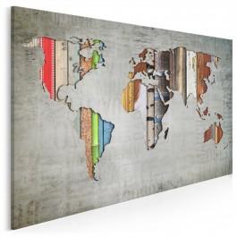 Porządek świata - nowoczesny obraz na płótnie