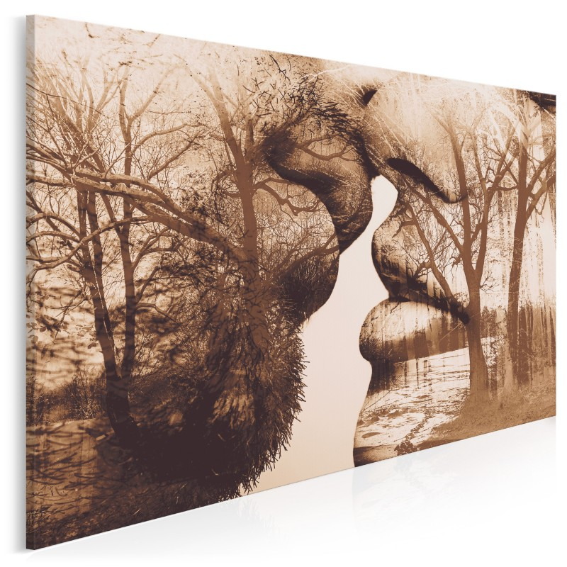 Antologia intymności - nowoczesny obraz na płótnie - 120x80 cm