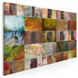Life, Home, Love - nowoczesny obraz na płótnie - 120x80 cm