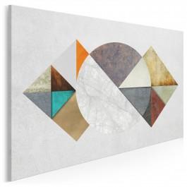 Przestrzeń sprzeczności - nowoczesny obraz do salonu - 120x80 cm
