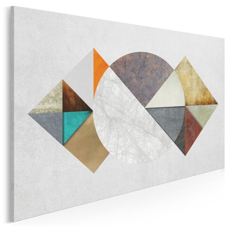 Przestrzeń sprzeczności - nowoczesny obraz do salonu