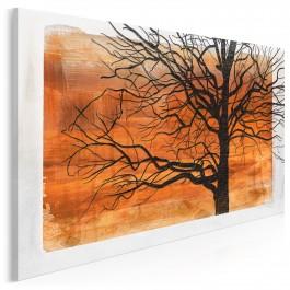 Czar jesiennych barw - nowoczesny obraz do sypialni - 120x80 cm